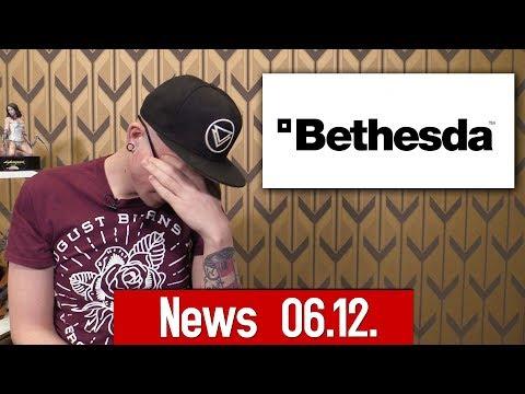 Die News vom 06.12.2018: Bethesda verliert Kundendaten, Epic stellt Unreal Tournament ein thumbnail