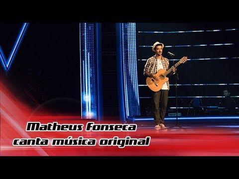 Matheus Fonseca canta música original   The Voice Portugal