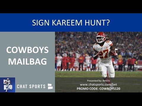 Cowboys Mailbag: Sign Kareem Hunt, Dak Prescott Extension, DeMarcus Lawrence Contract & Top Players?