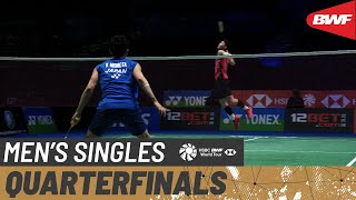 YONEX All England Open 2021 | Day 3: Kento Momota (JPN) [1] vs Lee Zii Jia (MAS) [6]