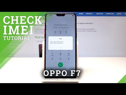 How to Check IMEI Number in OPPO F7 - HardReset info