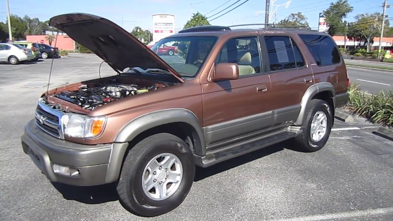 sold 1999 toyota 4runner limited 2wd meticulous motors inc florida for sale youtube. Black Bedroom Furniture Sets. Home Design Ideas