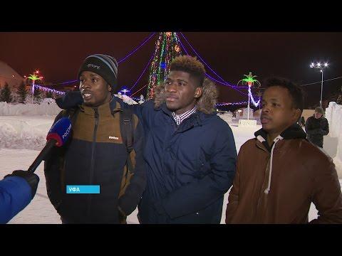 Иностранные студенты впервые встретили Новый год в России