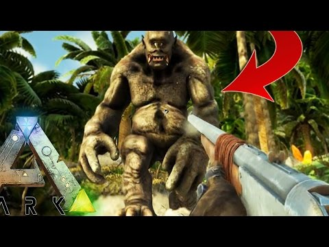 Ark Survival Evolved - GIANT CYCLOPS ATTACK, MOST FAILS YET - EP4 (Modded Survival)
