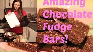 How To Make Simple Chocolate Bar Fudge - No Bake - Vegan - Easy Recipe