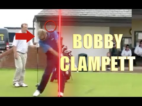 BOBBY CLAMPETT GOLF SWING ANALYSIS