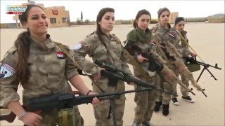 Repeat youtube video Syrian Women fighting for their fatherland Syria in Al Qamishli