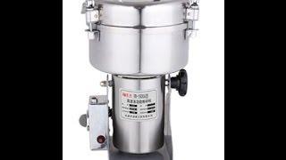 Electric Herb Coffee Beans Grain Grinder Cereal Mill Powder Machine Flour 1000g