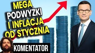 To Już Pewne: Mega Podwyżki i Inflacja od Stycznia - Analiza Komentator Pieniądze Podatki PIS ZUS PL
