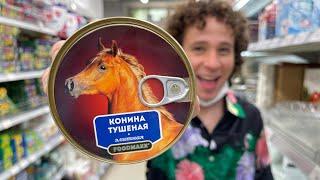 Visitando un supermercado en un país MUY RARO | Uzbekistán 🇺🇿 🛒