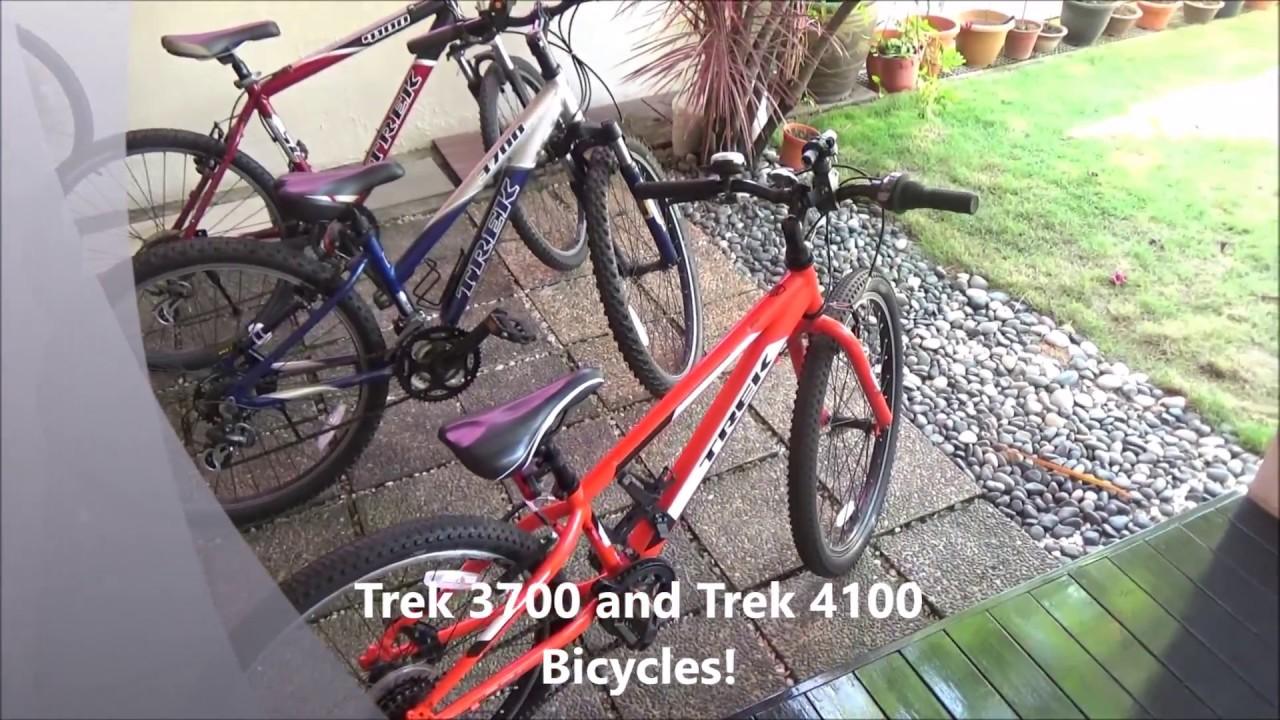 1e973bb87c7 Trek 3700 and Trek 4100 Mountain Bikes - YouTube