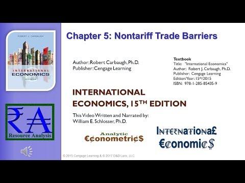 Intl Economics - Chapter 05: Nontariff Trade Barriers