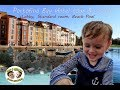 Portofino Bay Hotel review, lobby, grounds, standard room, beach pool, water taxi