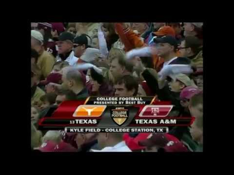 #13 Texas vs. Texas A&M 2007 - Part 1