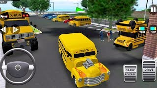 Super High School Bus Driving Simulator 3D 2018 #3 Android IOS gameplay