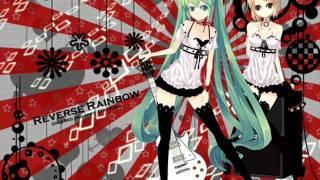 reverse rainbow miku y rin + descarga mp3