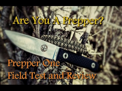 Are You A Prepper? Prepper One By Pohl Force Field Test and Review 🌲🌲