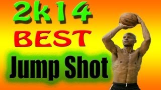 NBA 2k14 Best Jump Shot & Quickest Realease | Make More Threes And Shots From Anywhere