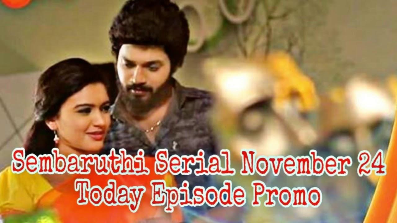 Sembaruthi Serial November 24 Today Episode Promo