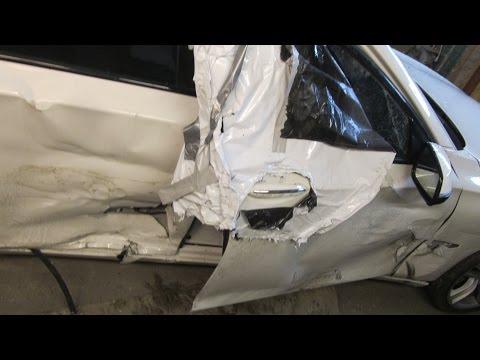 BMW 7. A little body repair. Небольшой ремонт.