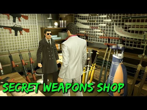 Yakuza Kiwami - Secret Weapons Shop