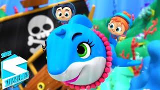 ребенок акула Детские стишки обучающие Super Supremes Russia Музыка для детей