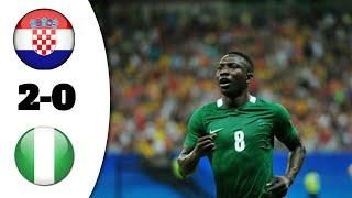 Хърватия 2:0 Нигерия / Голове 16.06.2018 HD