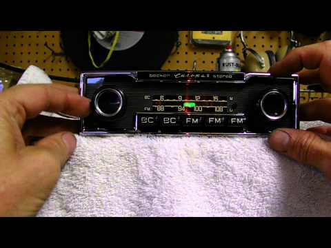 VINTAGE Mercedes Benz BECKER Europa II BC FM Car Stereo Radio
