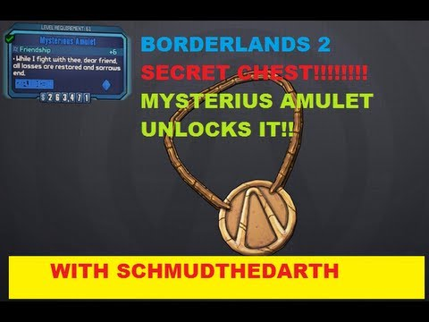 Mysterious Amulet Secret Chest in Borderlands 2