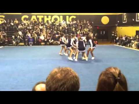 Mount saint Dominic academy cheer competition full