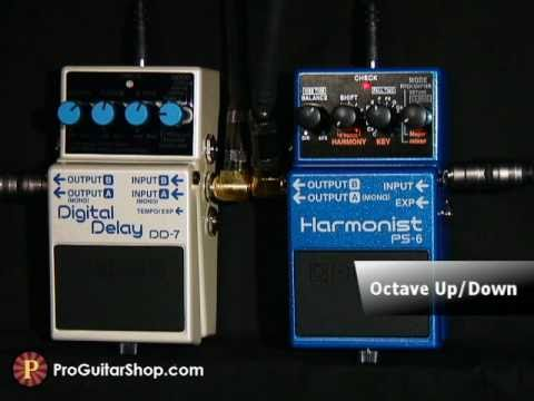 PS-6 Pedal guitarra Boss PS6 harmonist