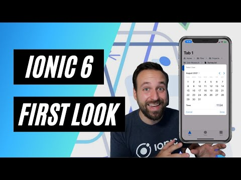 First look at Ionic 6 BETA