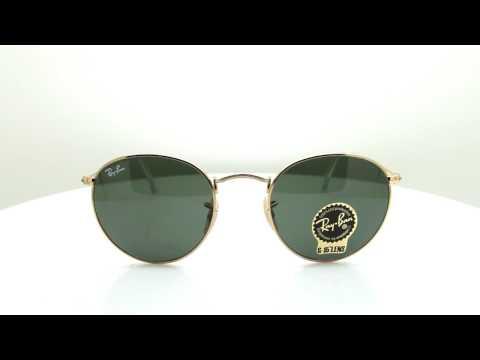 แว่นกันแดด RAY-BAN ROUND METAL RB3447 001 50