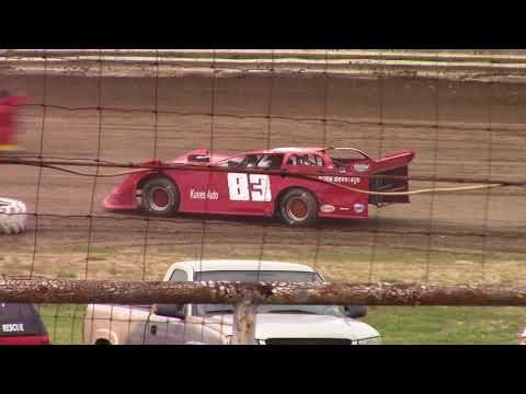 Hummingbird Speedway (6-9-18): Swanson Heavy Duty Truck Repair Semi-Late Model Heat Race #2