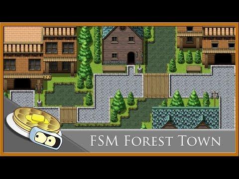 FSM Forest Town Speed Development - RPG Maker MV - YouTube