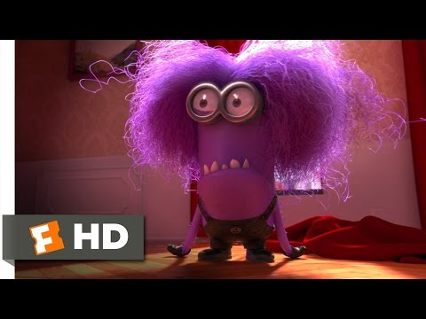 Despicable Me 2 (9/10) Movie CLIP - The Purple Minion Attacks (2013) HD