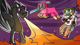 12. ЛОВУШКА ЗЛОБНОГО ДРАКОНА!!! - Lp.Выживший (Minecraft Let