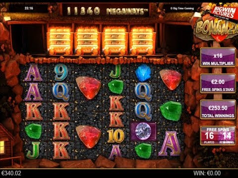 Bonanza Slot 32 Free Spins With 2 Bet Youtube