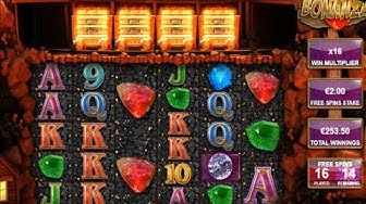 Bonanza Slot - 32 Free Spins With 2€ Bet!!