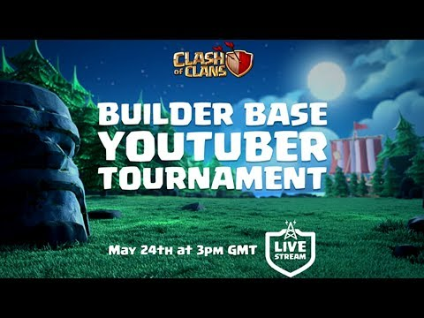 Clash of Clans - Builder Base YouTuber Tournament!