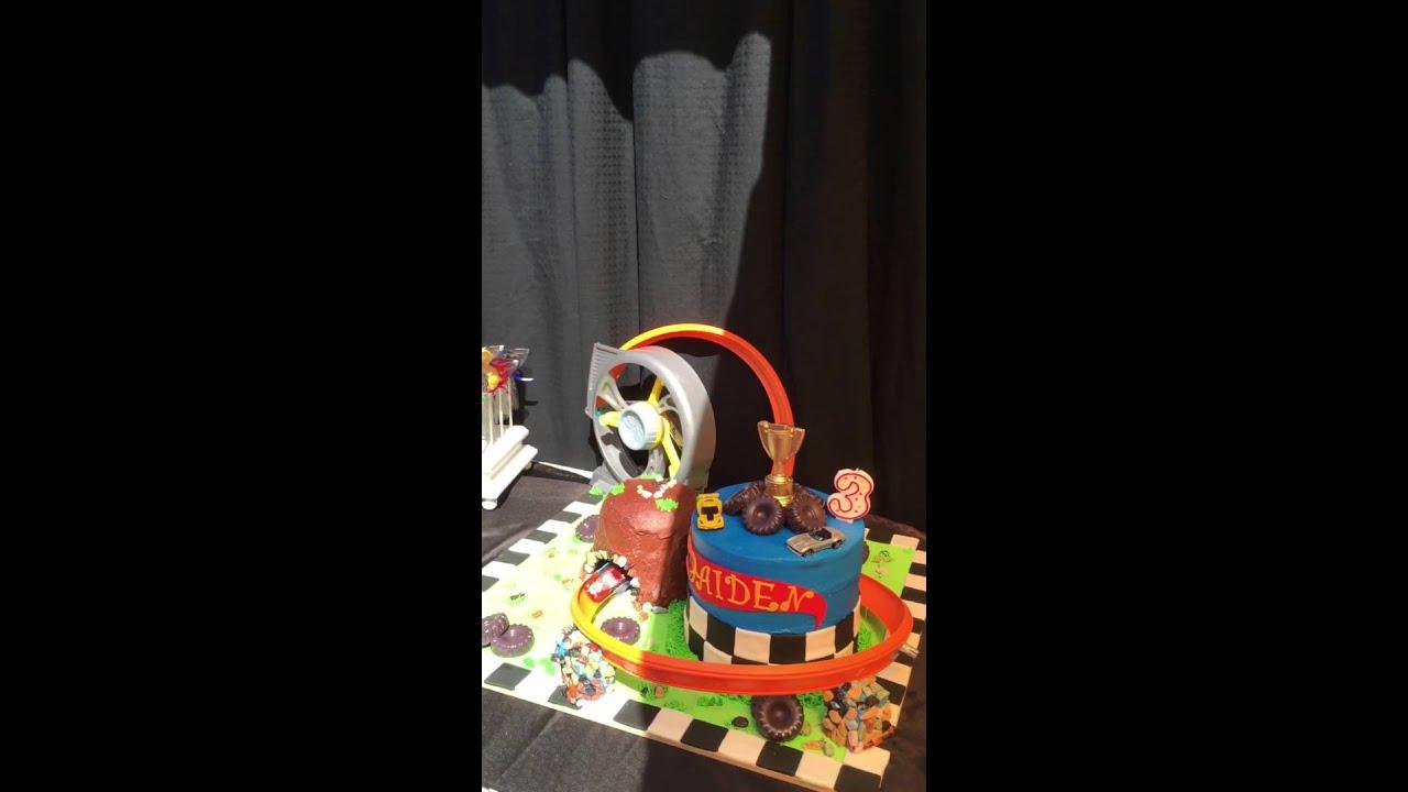 Hot Wheels Birthday Cake Youtube