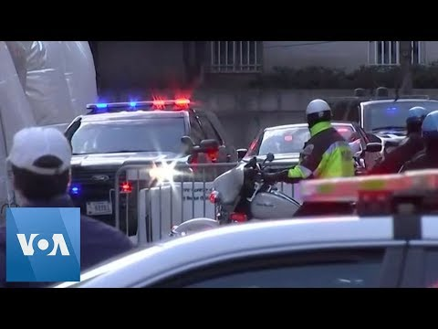Turkish President Erdogan Arrives at Washington Hotel Ahead of Trump Visit