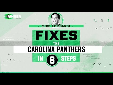How to Fix the Carolina Panthers in Six Steps | Michael Lombardi | The Ringer