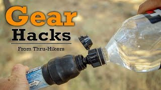 Thru-Hiker Gear Hacks - ft. Second Chance, Hike Oregon, Bigfoot & Others!