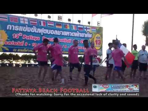 13th Pattaya Beach Football Cup France 8 - 10 Ireland EP 1