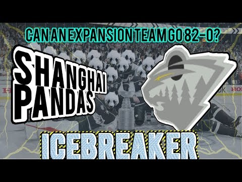 NHL 18 Franchise Mode | Can an Expansion Team go 82-0 in one SEASON? (NHL 18 Icebreaker Challenge)