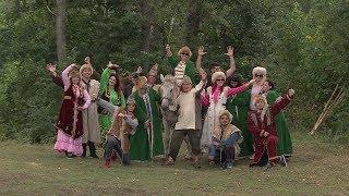 В Кармаскалинском районе состоялась большая интернациональная свадьба