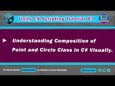C Unity 83  Circle class  Instantiation & flow of execution