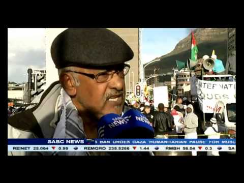 A call for Israel to end Gaza attacks gain momentum in SA
