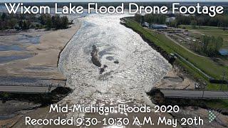 Mid-Michigan Floods: Wixom Lake Drained, M30 Bridge Destroyed, Devastating Flooding 05.20.2020 PT3